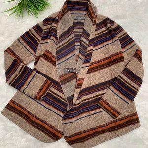Fenn Wright manson wool blend striped sweater belt